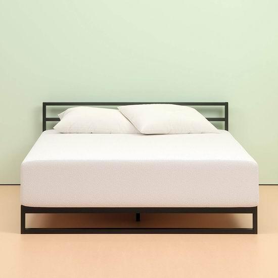 手慢无!历史新低!Zinus 10英寸 绿茶抗菌 记忆海绵Queen床垫 269.7加元包邮!