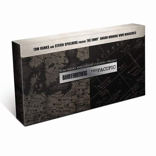金盒头条:历史新低!Band of Brothers & The Pacific 《太平洋战争》+《兄弟连》20集DVD版/蓝光影碟版 39.99-49.99加元包邮!