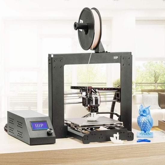 售价大降!历史新低!Monoprice Maker Select v2 3D打印机3.4折 220.67加元包邮!