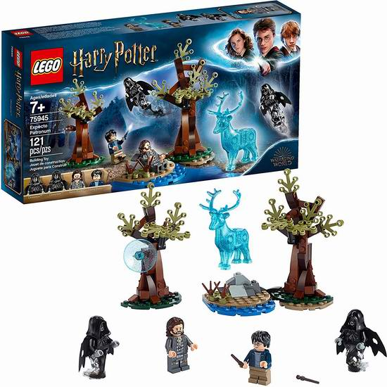 LEGO 乐高 75945 哈利波特之呼神护卫(121pcs)8.5折 21.24加元!
