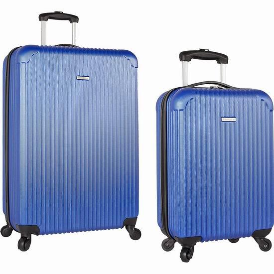 白菜价!历史新低!Travel Gear 19+28英寸 硬壳拉杆行李箱2件套 56.26加元包邮!