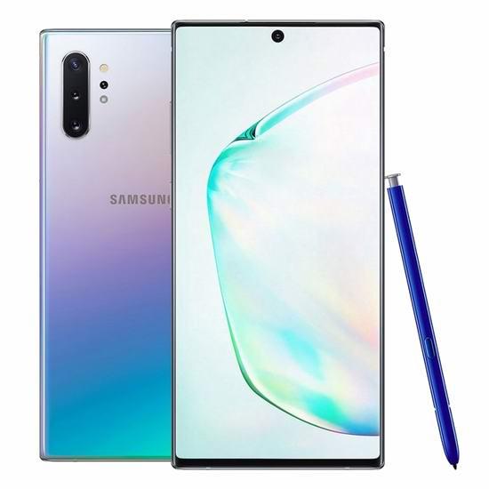 Samsung 三星 Galaxy Note 10+ 6.8英寸解锁版智能手机 1059.99加元包邮!