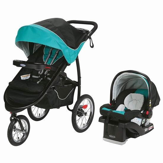 历史新低!Graco FastAction 大三轮婴儿推车 + 车载提篮套装6.7折 339.99加元包邮!