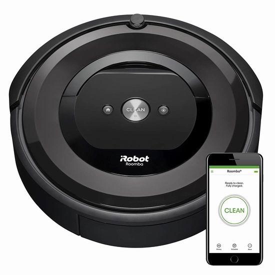 历史最低价!iRobot Roomba e5 (5150) Wi-Fi 高端智能扫地机器人 349.98加元包邮!