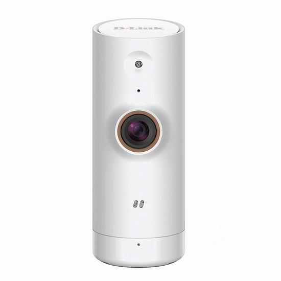 历史最低价!D-Link 友讯 DCS-8000LH WiFi 家用安防 智能摄像头 49.99加元包邮!