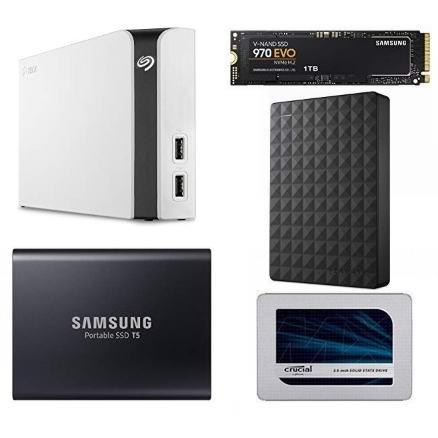 金盒头条:精选 Seagate、Samsung、Crucial 等品牌移动硬盘、固态硬盘、台式机硬盘6折起!