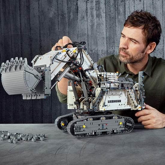 补货!Lego 乐高 42100 机械组 Liebherr R 9800 挖掘机(4108pcs) 449.97加元包邮!