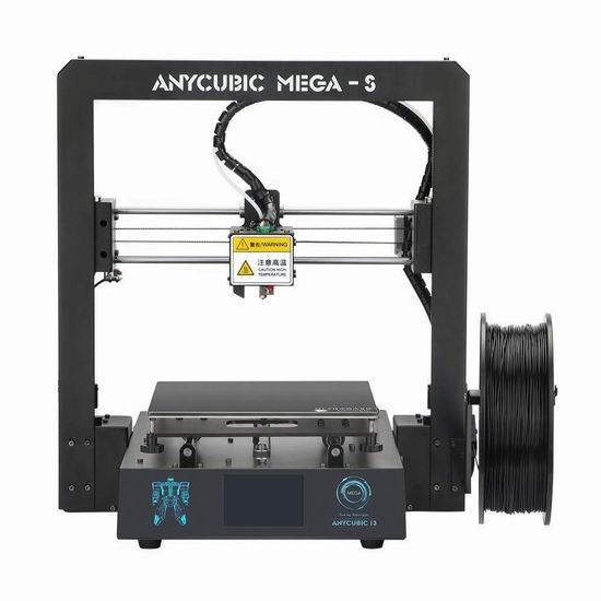 金盒头条:精选多款 ANYCUBIC 3D打印机及耗材5.3折起!