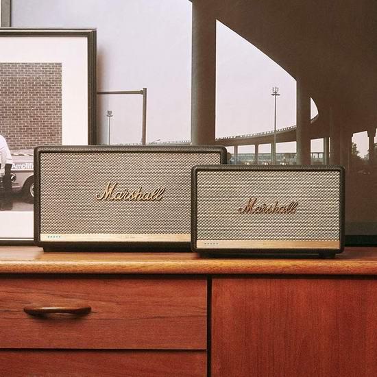 节礼周头条:精选4款 Marshall 马歇尔 高颜值复古蓝牙音箱5.7折起!