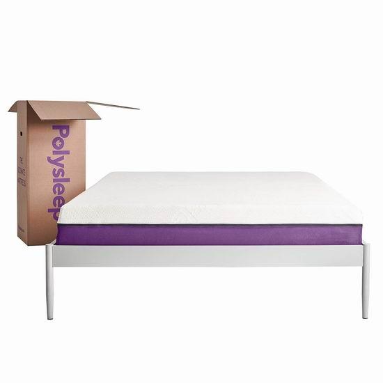 节礼周头条:历史新低!Polysleep Twin/Full/Queen/King高级记忆海绵床垫5.6折 336.5-546.5加元包邮!其中Queen售价476.5加元!加拿大本地制造!