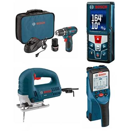 节礼周头条:精选 Bosch 博世 电钻、电锯、测距仪、墙面探测仪、砂光机、收音机等电动工具5.6折起!