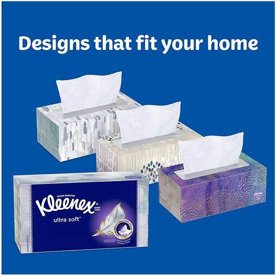 Kleenex 舒洁 超软面巾纸/抽纸(70抽x6盒、420张)6.63加元!