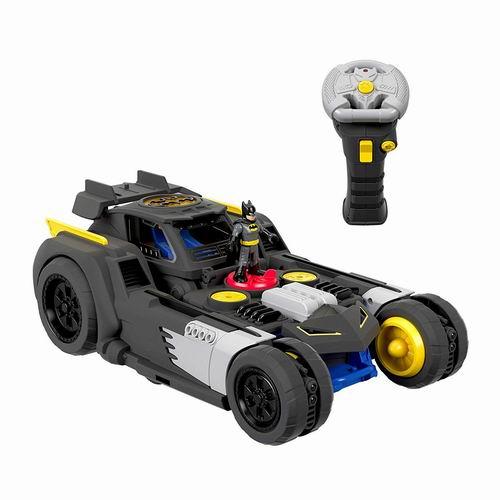 Fisher-Price 《DC 超级朋友》遥控变形蝙蝠车 5折 49.97加元,原价 99加元,包邮