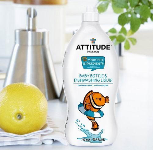 Attitude 生态宝贝 天然配方 洗碗液 700毫升 5.99加元起特卖!