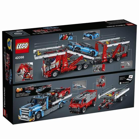 LEGO 乐高 42098 机械组 汽车运输车(2493pcs) 182.89加元包邮!