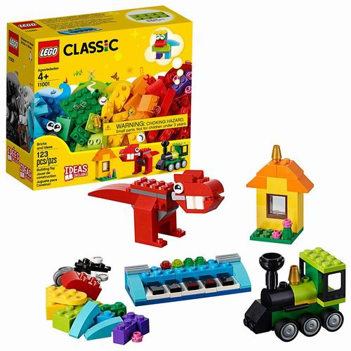 LEGO 乐高 11001 创意积木盒 10加元,原价 13.99加元