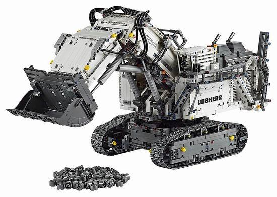 圣诞好礼!Lego 乐高 42100 机械组 Liebherr R 9800 挖掘机(4108pcs) 449.99加元包邮!