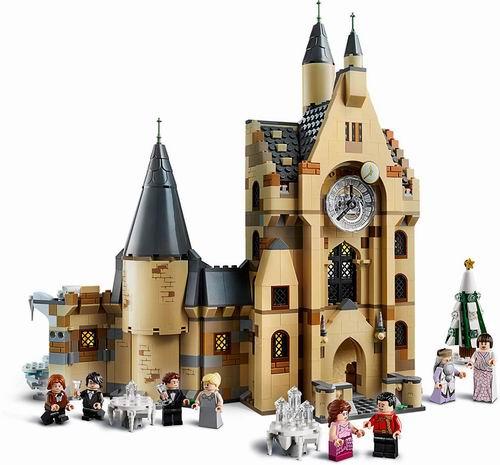 LEGO 乐高 75948 哈利波特 霍格沃茨钟楼(922pcs) 99.62加元包邮!