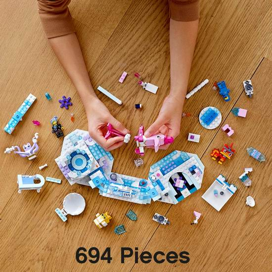 历史新低!LEGO 乐高 70830 乐高大电影2 闪亮水疗馆(691pcs)4.4折 39.99加元包邮!
