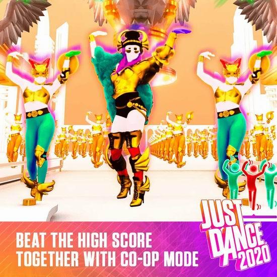 历史新低!《Just Dance 舞力全开 2020》10周年Switch版游戏4折 19.96加元!