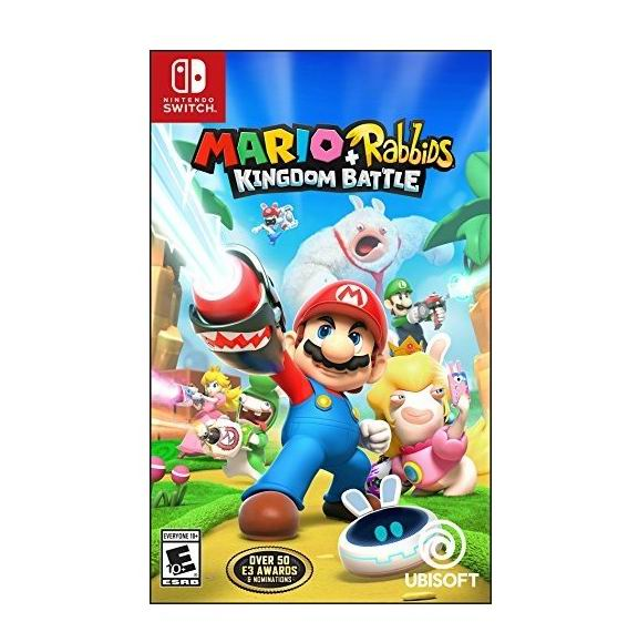 历史最低价!Nintendo Switch 《马里奥+疯狂兔子 王国之战》游戏 29.99加元,原价 79.67加元