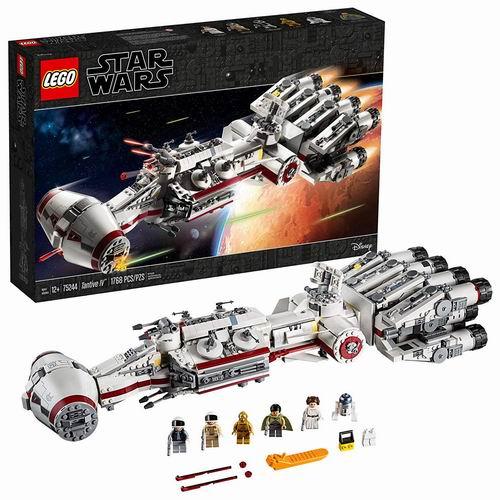 新款LEGO 乐高 75244  星球大战系列 坦地夫四号飞船 8.5折 228.65加元,原价 269加元,包邮