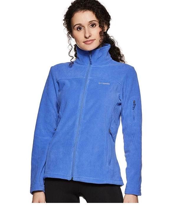 Columbia Fast Trek II女士拉链抓绒衫 38.13加元(XS码),原价 80加元,包邮