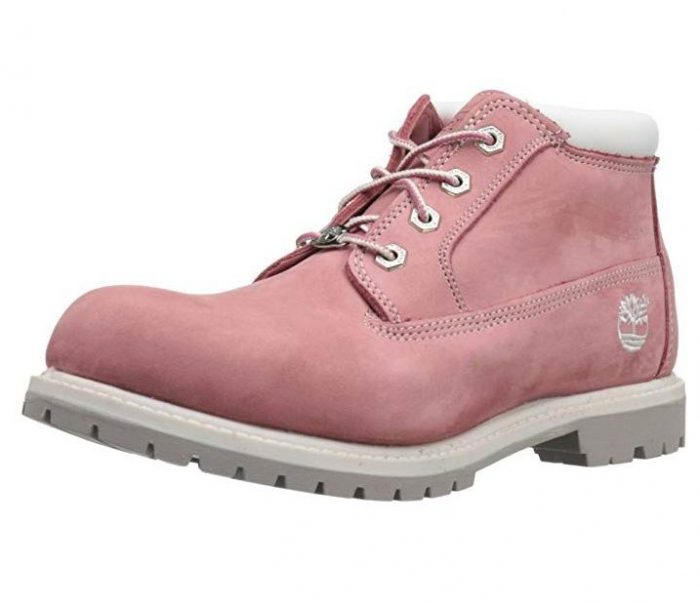 Timberland Nellie 女士防水粉色短靴 77.33加元(8码),原价 169.22加元,包邮