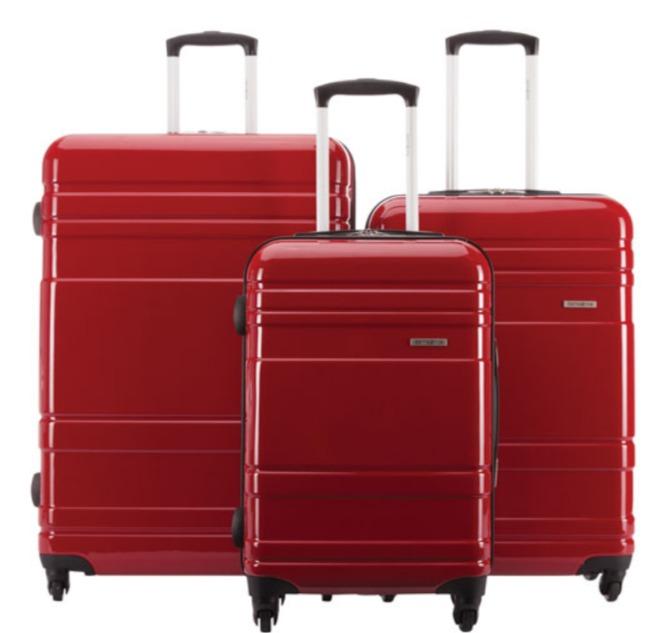 Samsonite 新秀丽 Caribbea系列 拉杆行李箱3件套 269.99加元(2色),原价 599.99加元,包邮
