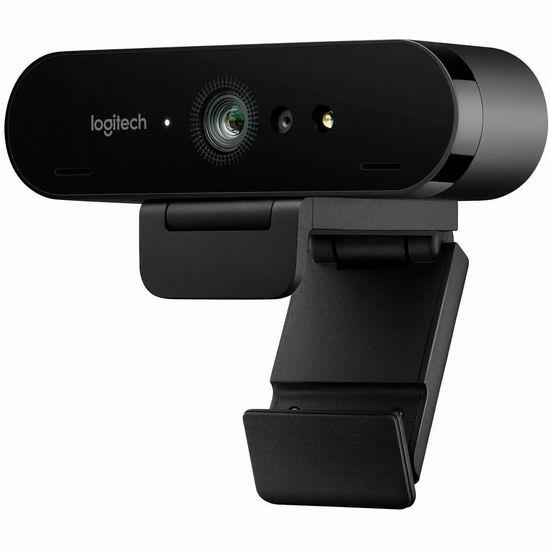 Logitech 罗技 Brio C1000e 4K超高清网络摄像头 205.84加元包邮!