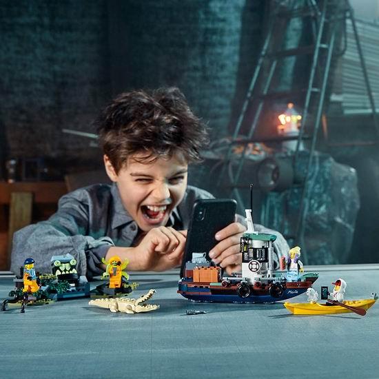 历史最低价!Lego 乐高 70419 Hidden Side 捉鬼大师系列 渔船探险(310pcs) 7.8折 31.38加元!