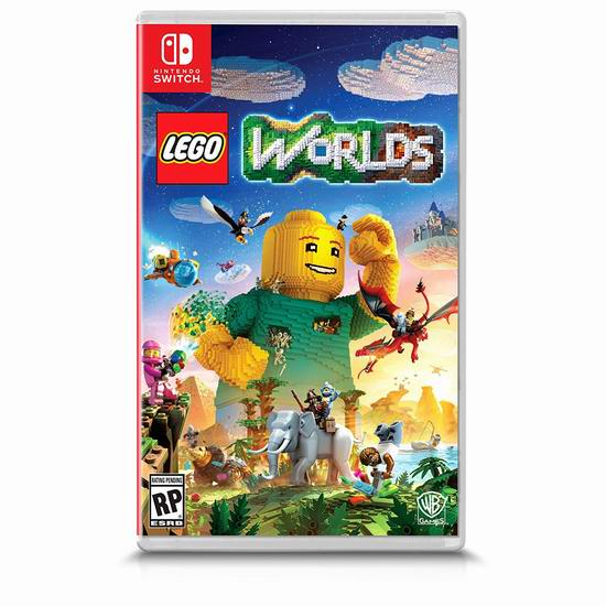 历史新低!Warner Bros 《Lego Worlds 乐高世界》Switch版游戏5折 19.99加元!