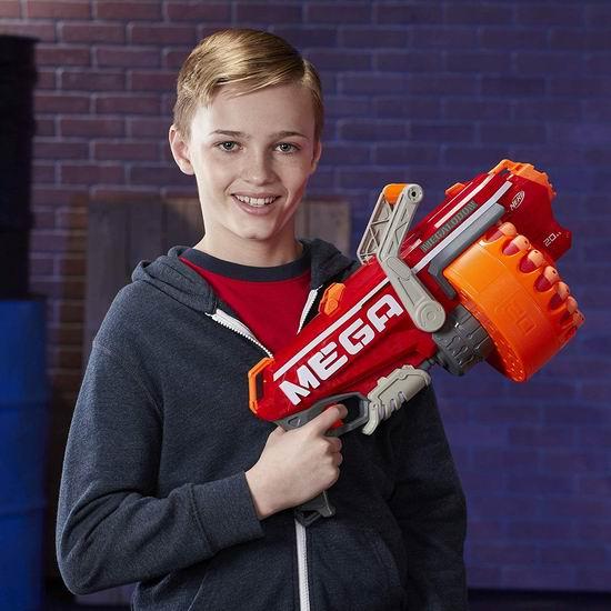 白菜价!历史新低!Hasbro 孩之宝 E2849F07 Nerf Mega 泡沫海绵玩具枪3.6折 18加元!