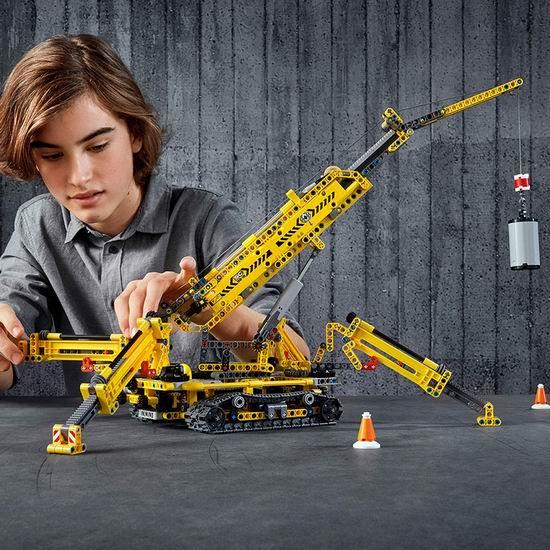 LEGO 乐高 42097 二合一 精巧型履带起重机(920pcs)7.1折 99.99加元包邮!