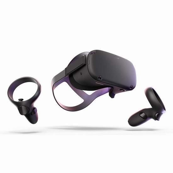 历史新低!Oculus Quest 六自由度 VR头显一体机(64GB) 508.48加元包邮!限时送《星球大战:Vader Immortal》+《Lightsaber Dojo》游戏!