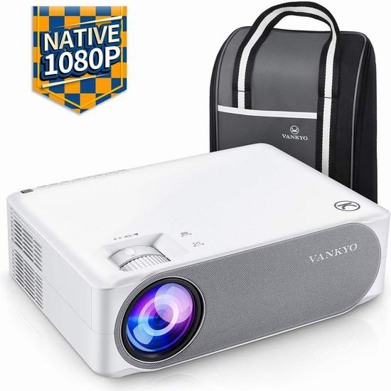 VANKYO Performance V630 1080P 6500流明 家庭影院投影仪 261.99加元包邮!