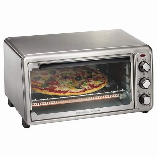 历史新低!Hamilton-Beach 31411 6 Slice 家用电烤箱4.7折 32.99加元!