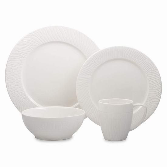 历史新低!Cuisinart Tavio 精细陶瓷餐具16件套4.1折 32.97加元!