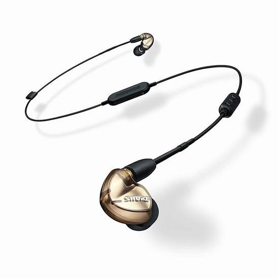 罕见好价!Shure 舒尔 SE535-V+BT1 专业监听级 蓝牙隔噪耳机5.1折 391.69加元包邮!