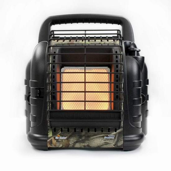 历史新低!Mr. Heater MH12B 便携式燃气红外加热取暖器5.6折 94.87加元包邮!