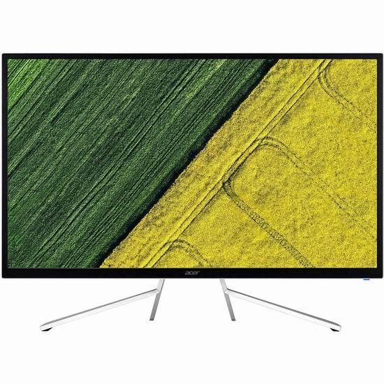 历史新低!Acer 宏碁 ET322QU 31.5英寸 WQHD IPS高清显示器 209.99加元包邮!