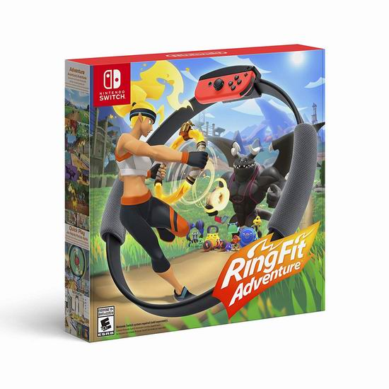 Nintendo Switch 《Ring Fit Adventure 健身大冒险》 99.99加元包邮!