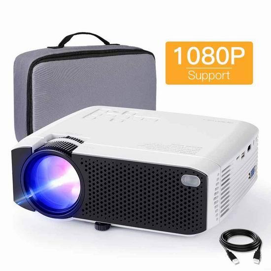历史新低!APEMAN LC350 3800流明 家庭影院LED投影仪 75.99加元包邮!