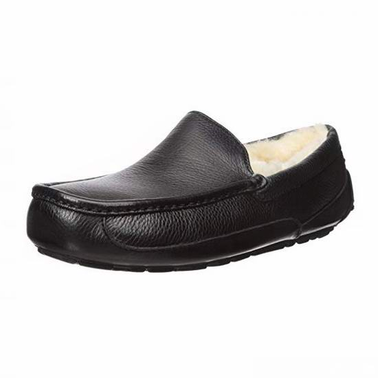 UGG Ascot 一脚蹬 男士羊毛保暖鞋5.6折 84加元包邮!码齐!