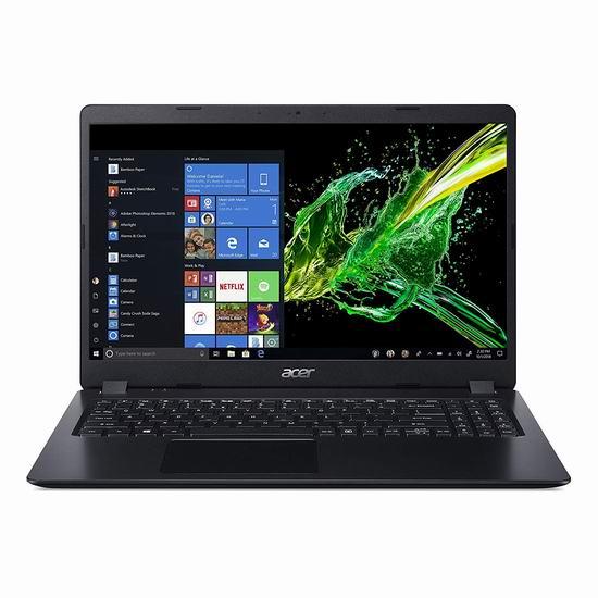 历史新低!Acer 宏碁 Aspire 3 Slim 15.6英寸笔记本电脑(8GB, 128GB SSD)5.3折 366.81加元包邮!