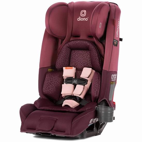 历史新低!Diono 谛欧诺 radian 3RXT 成长型儿童汽车安全座椅 359.99加元包邮!3色可选!