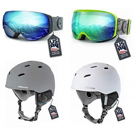 金盒头条:精选多款 Wildhorn 滑雪镜、滑雪头盔6.2折起!
