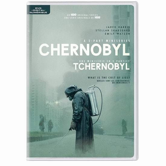 金盒头条:历史新低!《Chernoby 切尔诺贝利》迷你电视剧 DVD及蓝光影碟版 17.99-21.99加元!