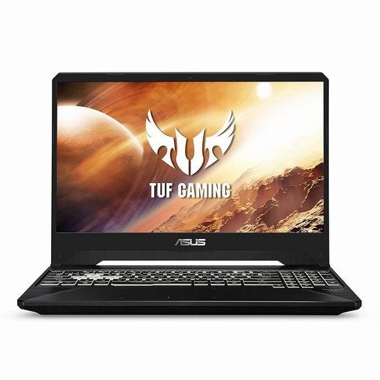 历史新低!Asus 华硕 FX505DV-PB74 TUF 军标加固 15.6英寸游戏笔记本电脑(AMD Ryzen 7 R7-3750H, GeForce RTX 2060, 16GB, 512GB SSD) 1299加元包邮!