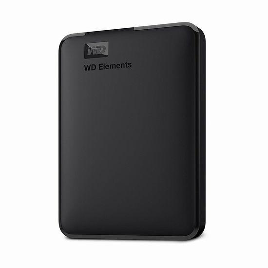 历史新低!WESTERN DIGITAL 西数 2TB 移动硬盘 69.99加元包邮!